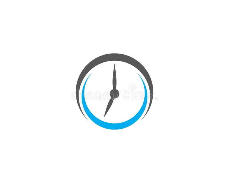 Icona di vettore dell'orologio illustrazione di stock