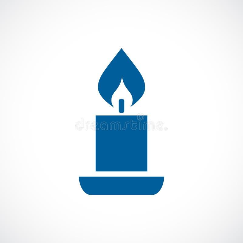Icona di vettore della candela royalty illustrazione gratis