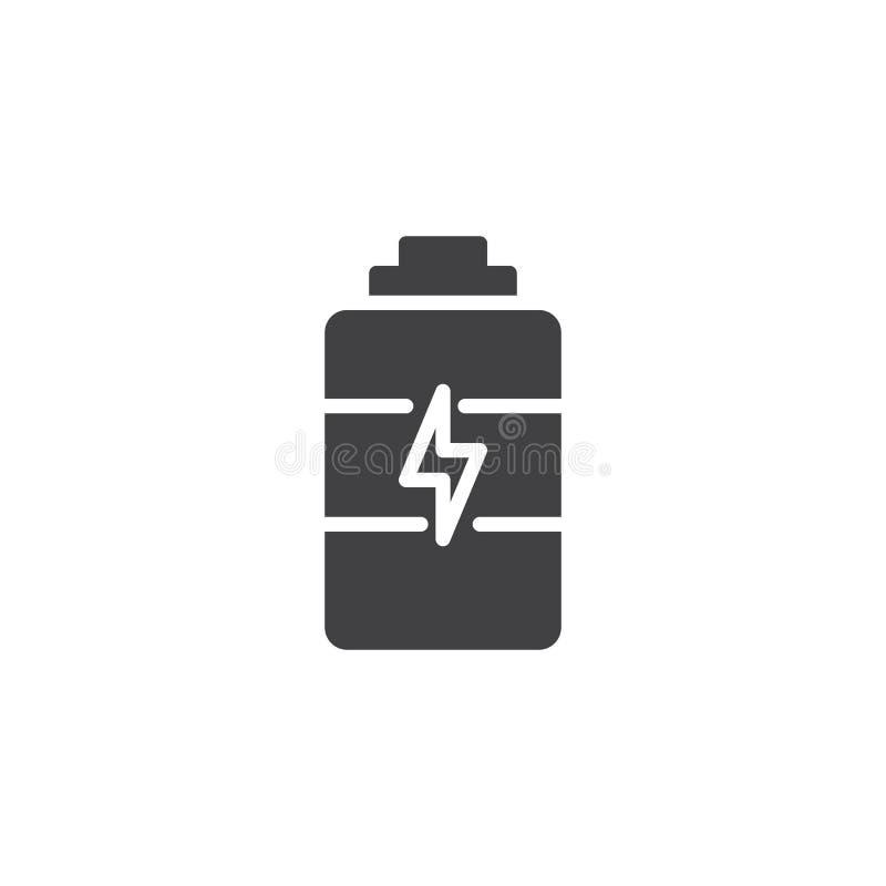 Icona di vettore della carica della batteria royalty illustrazione gratis