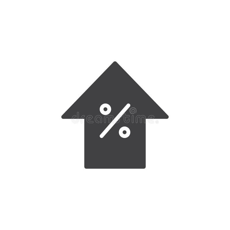 Icona di vettore della freccia di aumento di sconto royalty illustrazione gratis