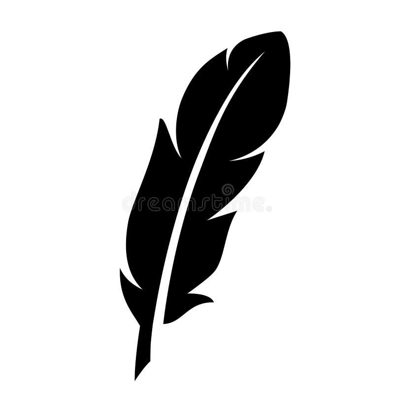 Icona di vettore della siluetta della spoletta royalty illustrazione gratis