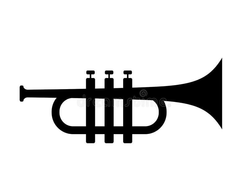 Icona di vettore della tromba illustrazione vettoriale