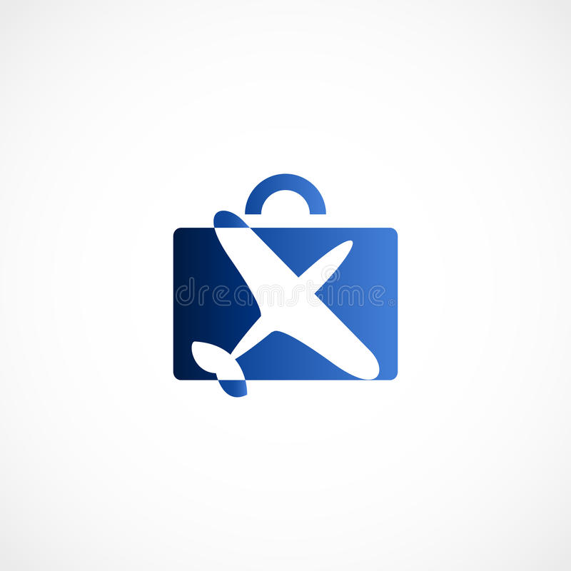 Icona di vettore di viaggio illustrazione di stock