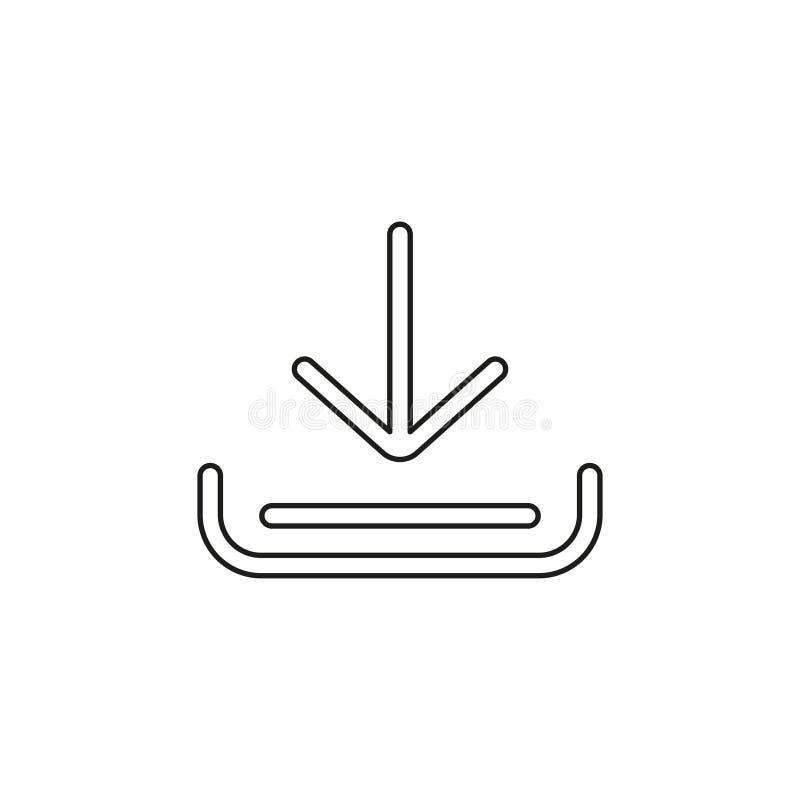 Icona di vettore di download royalty illustrazione gratis