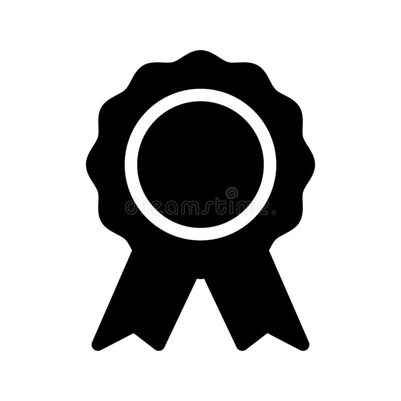 Icona di vettore di glifo del premio illustrazione vettoriale
