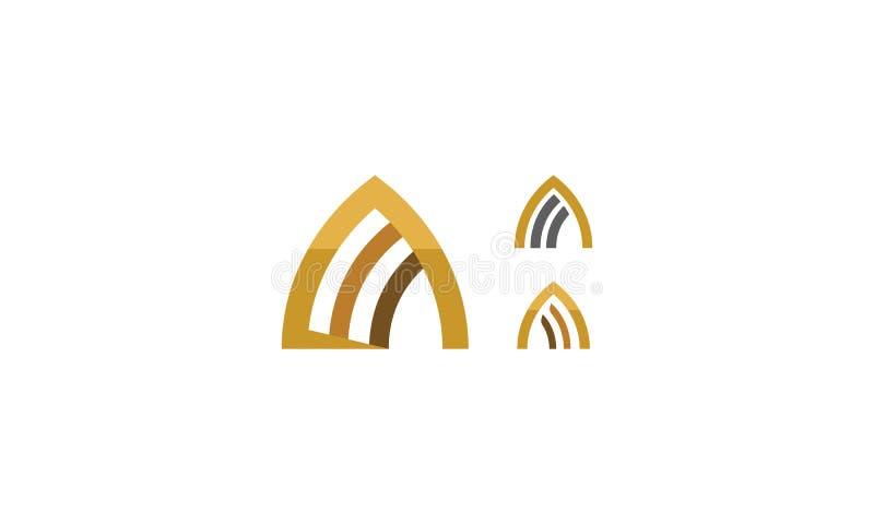 Icona di vettore di logo del tetto royalty illustrazione gratis