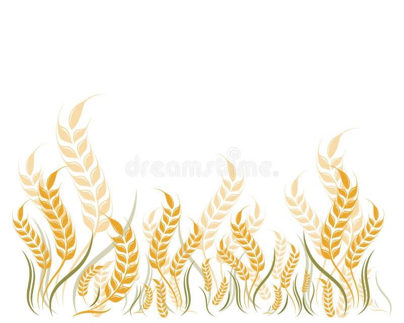 Icona di vettore di Logo Template del grano di agricoltura royalty illustrazione gratis