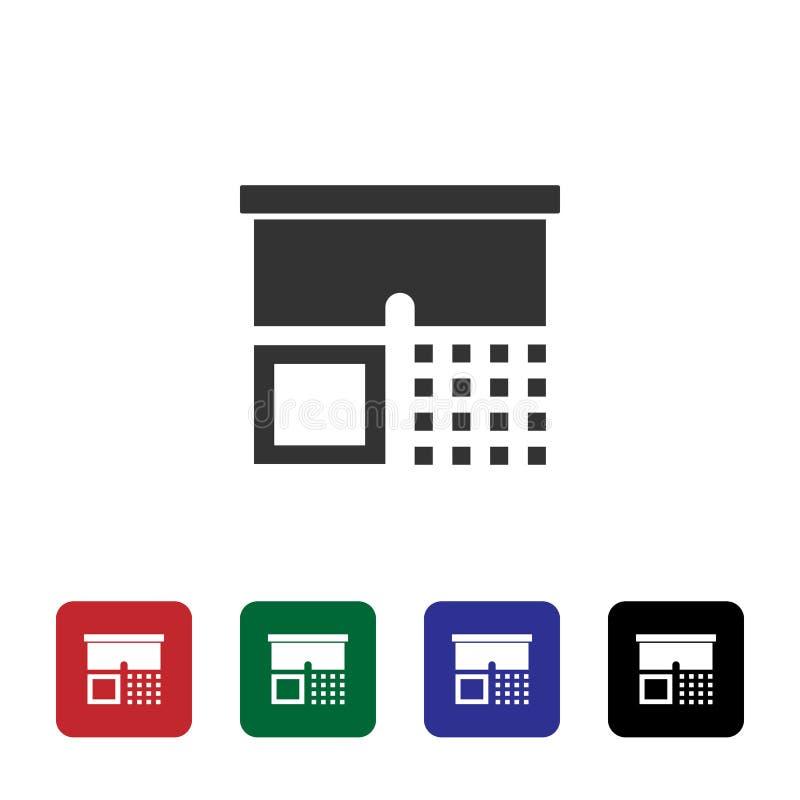 Icona di vettore di usura Illustrazione semplice dell'elemento dal concetto di biotecnologia Icona di vettore di usura Illustrazi illustrazione vettoriale