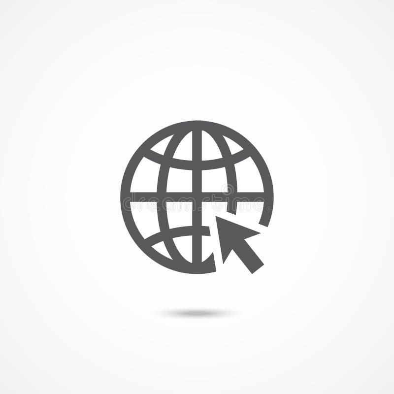 Icona di Web illustrazione di stock
