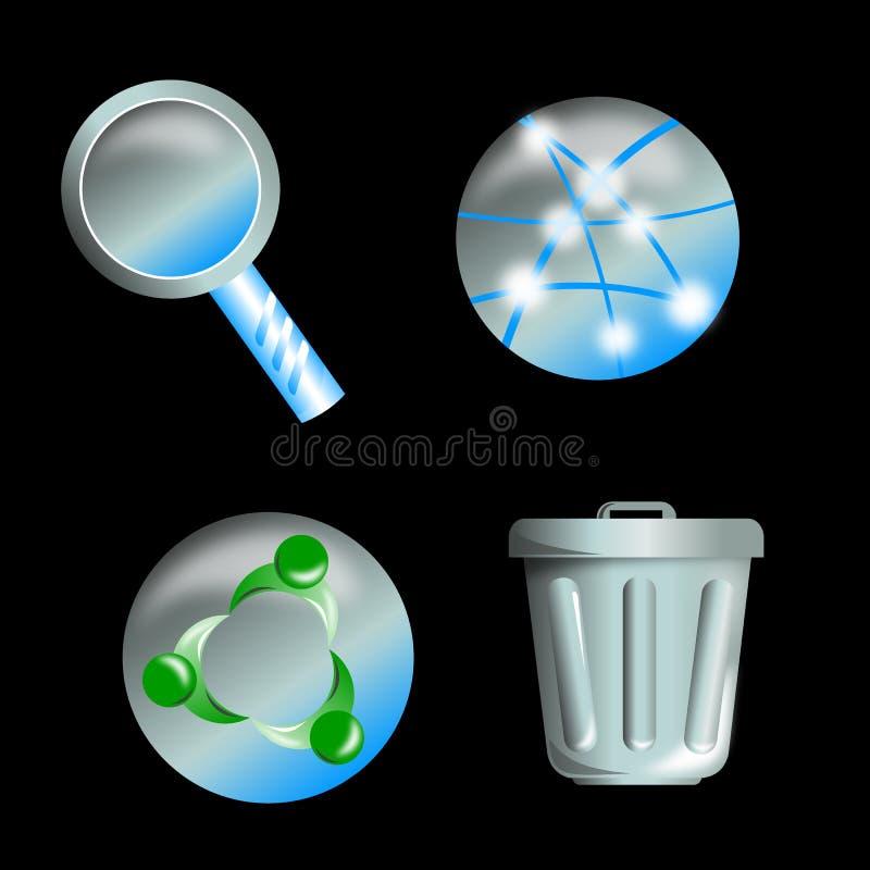 Download Icona di Web illustrazione di stock. Illustrazione di riunione - 7318727