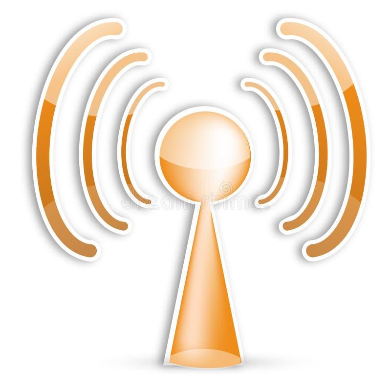Icona di Wifi illustrazione di stock