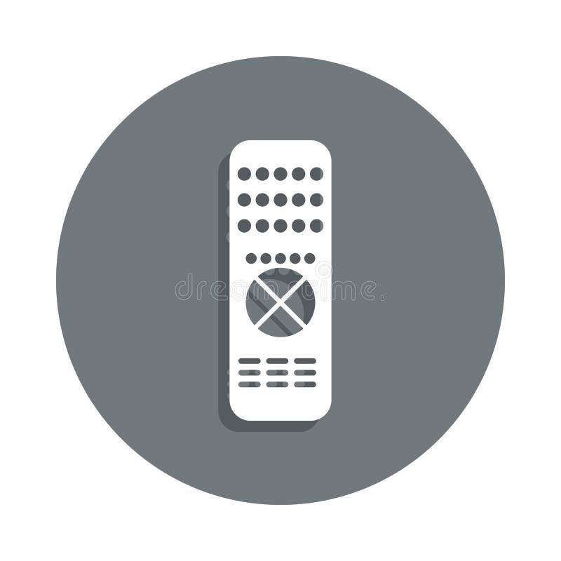 icona a distanza del regolatore nello stile del distintivo Uno dell'icona della raccolta del cinema può essere usato per UI, UX illustrazione vettoriale