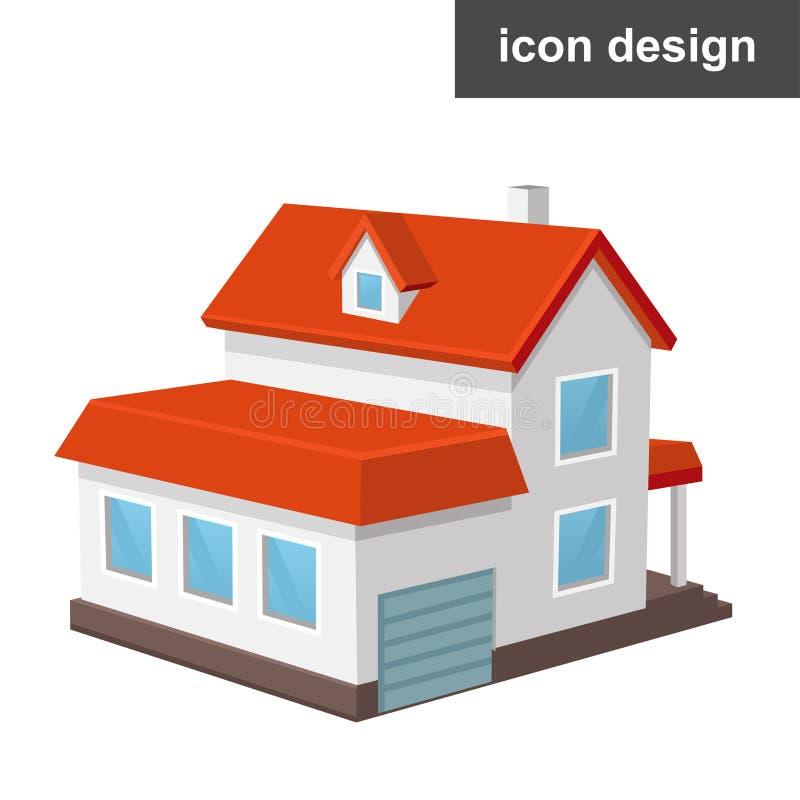 Icona domestica della Camera royalty illustrazione gratis