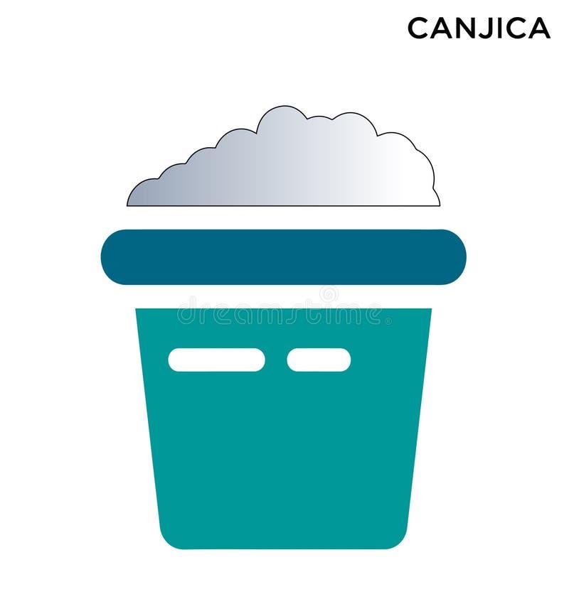 Icona editabile di Canjica de milho royalty illustrazione gratis