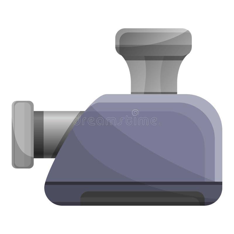 Icona elettrica della tritacarne, stile del fumetto illustrazione di stock