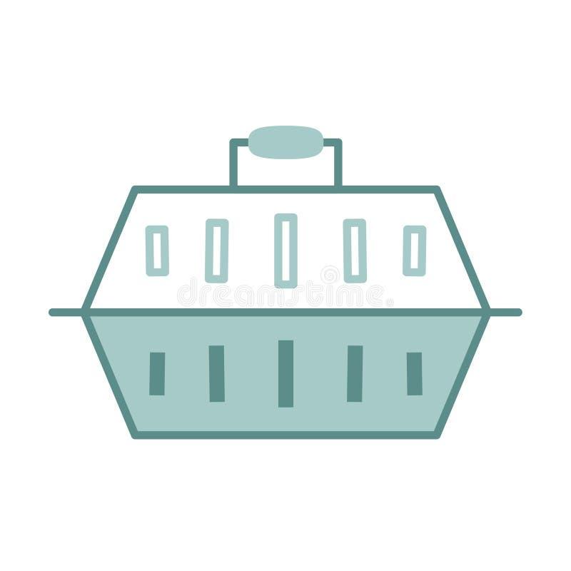 Icona Emoji Carrier Emoji Cartone Isolata illustrazione di stock
