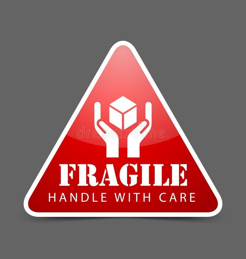 Icona fragile royalty illustrazione gratis