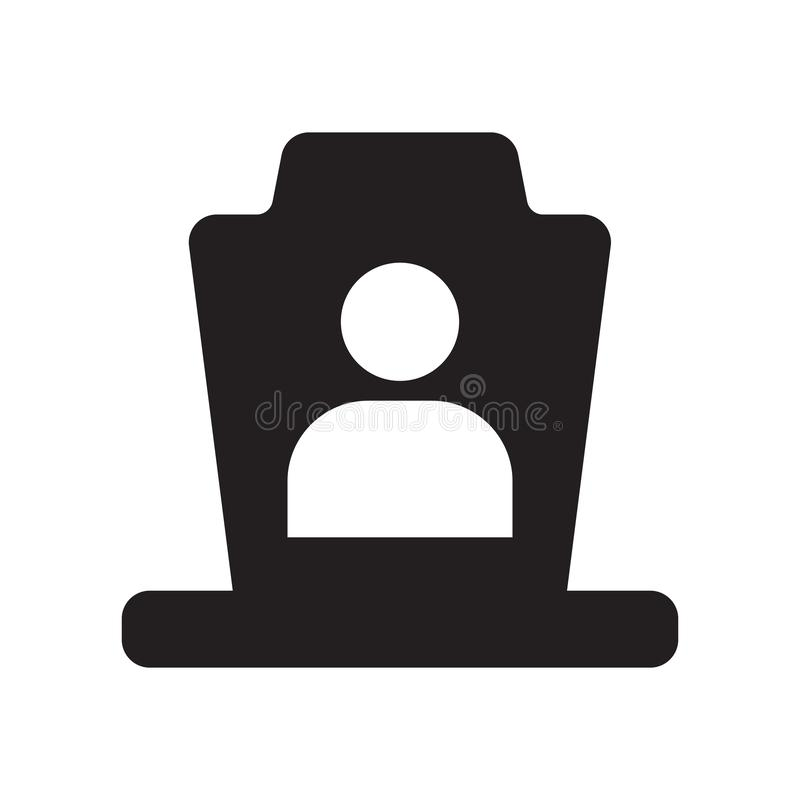 Icona funerea  royalty illustrazione gratis