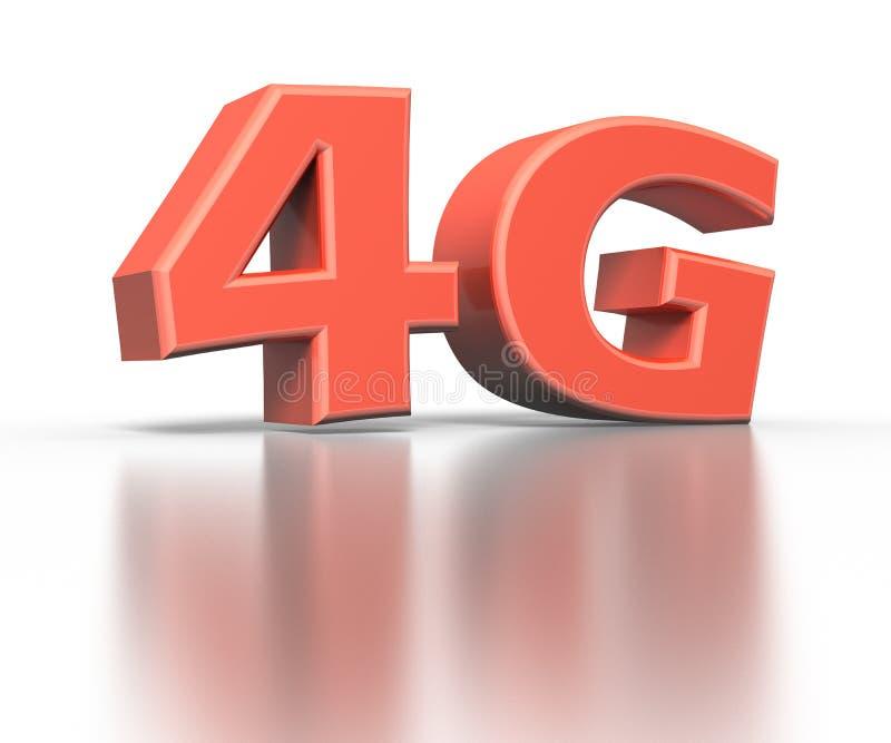 icona 4G Concetto senza fili di comunicazione illustrazione vettoriale