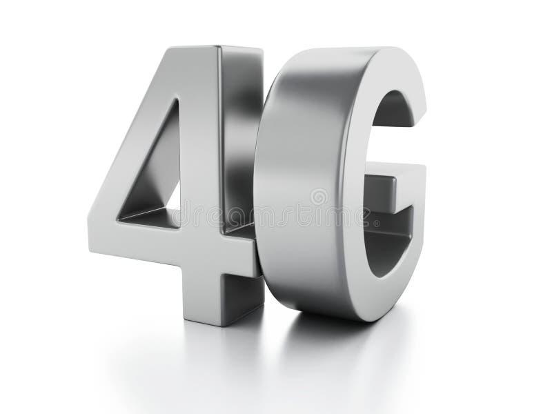 icona 4G Concetto senza fili di tecnologia della comunicazione royalty illustrazione gratis