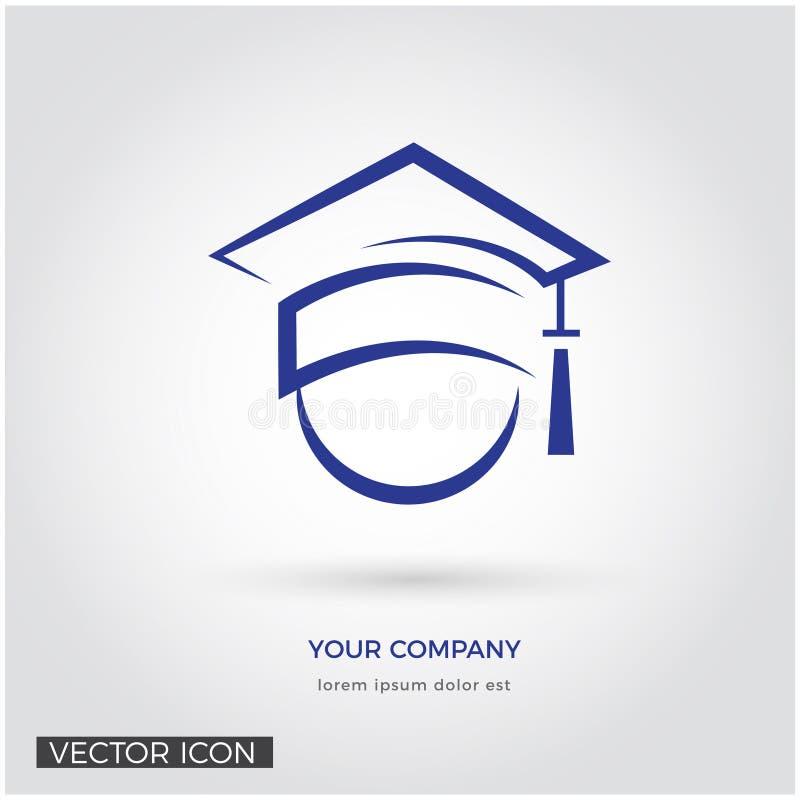 Icona globale di istruzione con il tocco royalty illustrazione gratis