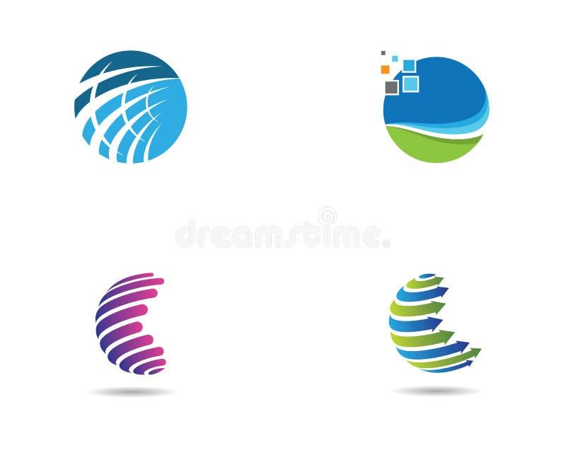 Icona globale di logo royalty illustrazione gratis