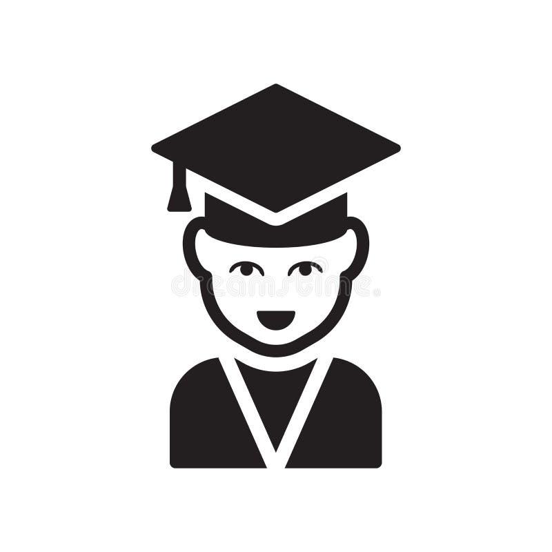 Icona graduata  illustrazione di stock