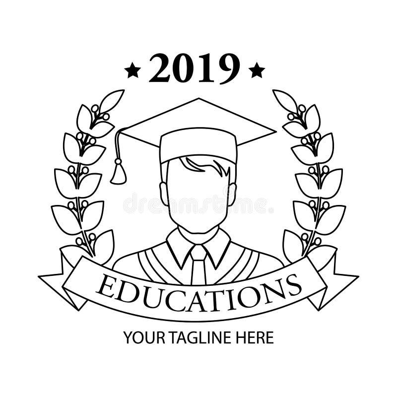 Icona graduata Progettazione lineare graduata di simbolo dalla raccolta della gente Illustrazione semplice di vettore dell'elemen illustrazione vettoriale