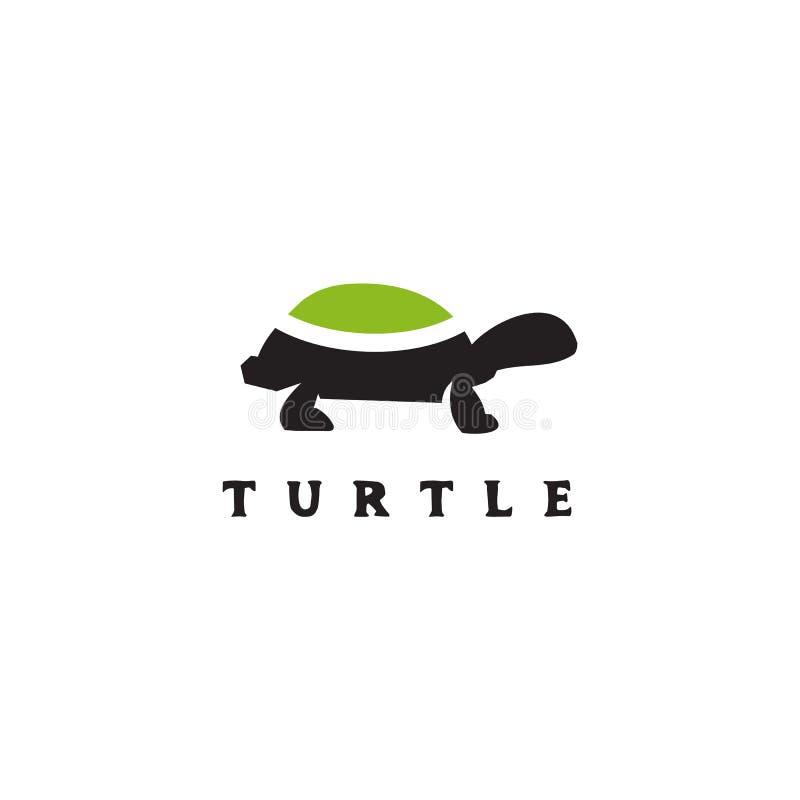 Icona grafica isolata modello di vettore di progettazione di logo della tartaruga illustrazione vettoriale