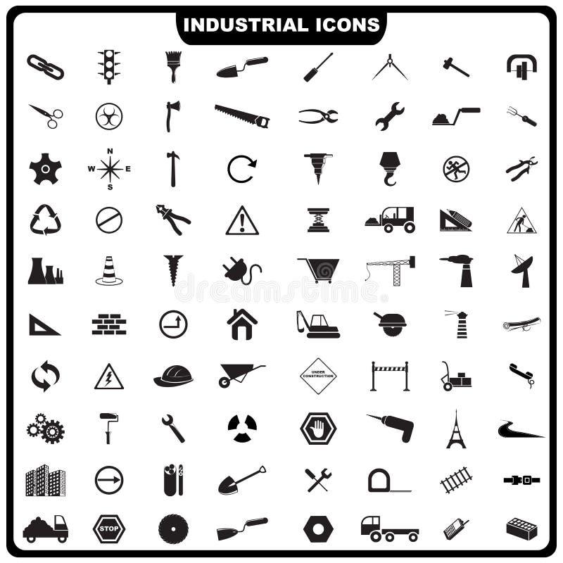 Icona industriale illustrazione vettoriale