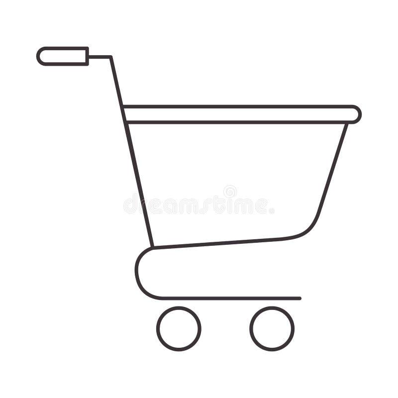 Icona isolata carrello royalty illustrazione gratis
