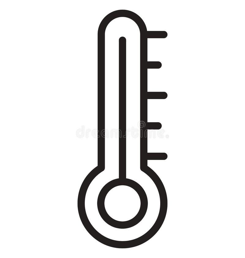 Icona isolata centigrado di vettore che può modificare o pubblicare facilmente royalty illustrazione gratis