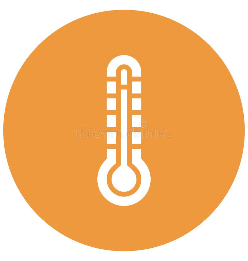 Icona isolata centigrado di vettore che può modificare o pubblicare facilmente illustrazione di stock