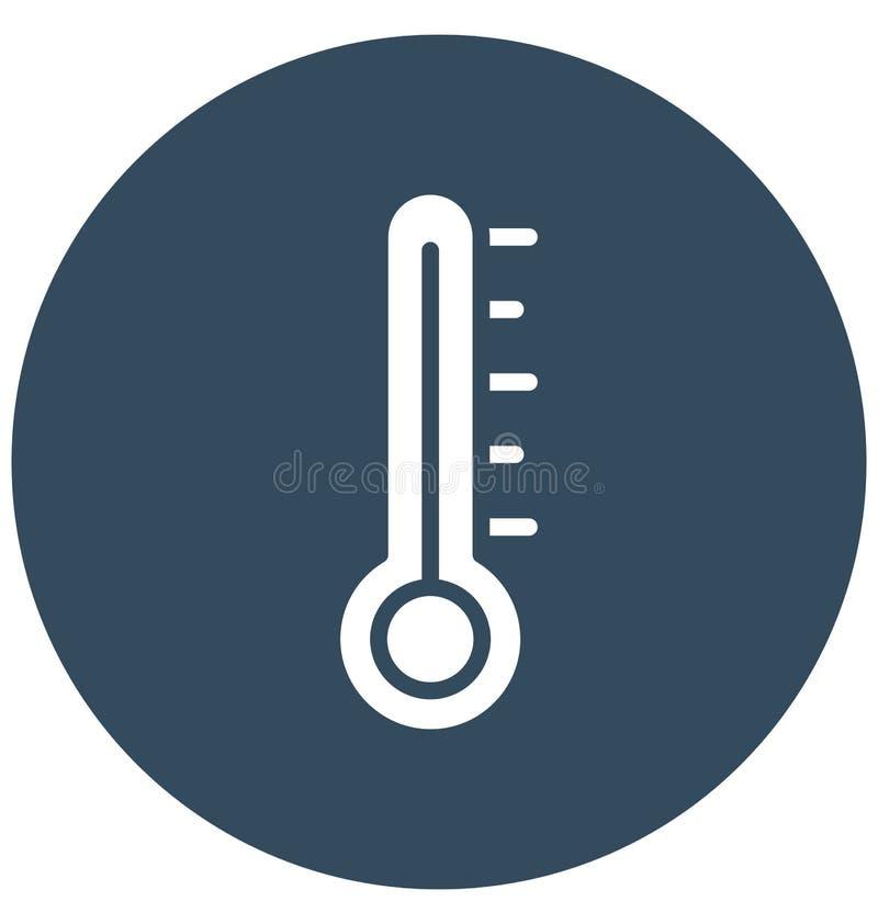Icona isolata centigrado di vettore che può modificare o pubblicare facilmente illustrazione vettoriale