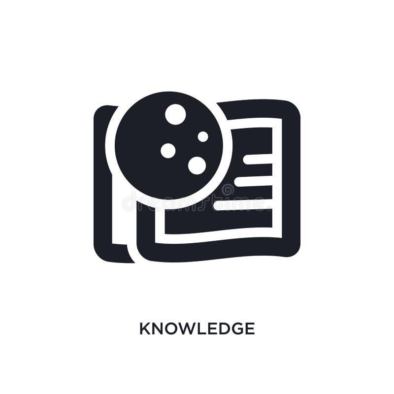 icona isolata conoscenza illustrazione semplice dell'elemento dalle icone di concetto dello zodiaco progettazione editabile di si illustrazione vettoriale