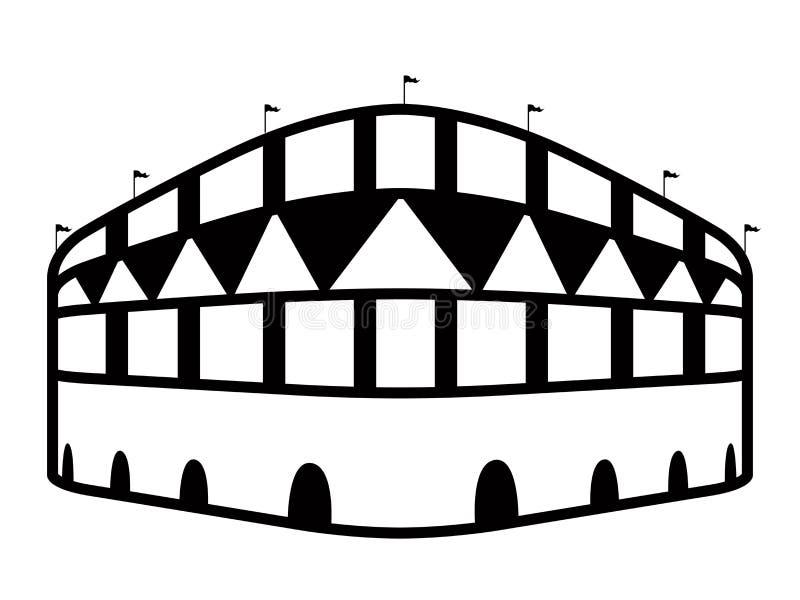 Download Icona Isolata Dello Stadio Di Calcio Illustrazione Vettoriale - Illustrazione di obiettivo, corrispondenza: 117979814