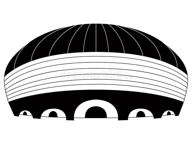 Download Icona Isolata Dello Stadio Di Calcio Illustrazione Vettoriale - Illustrazione di calcio, lega: 117979839