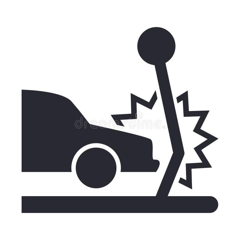 Icona isolata di assicurazione. illustrazione di stock