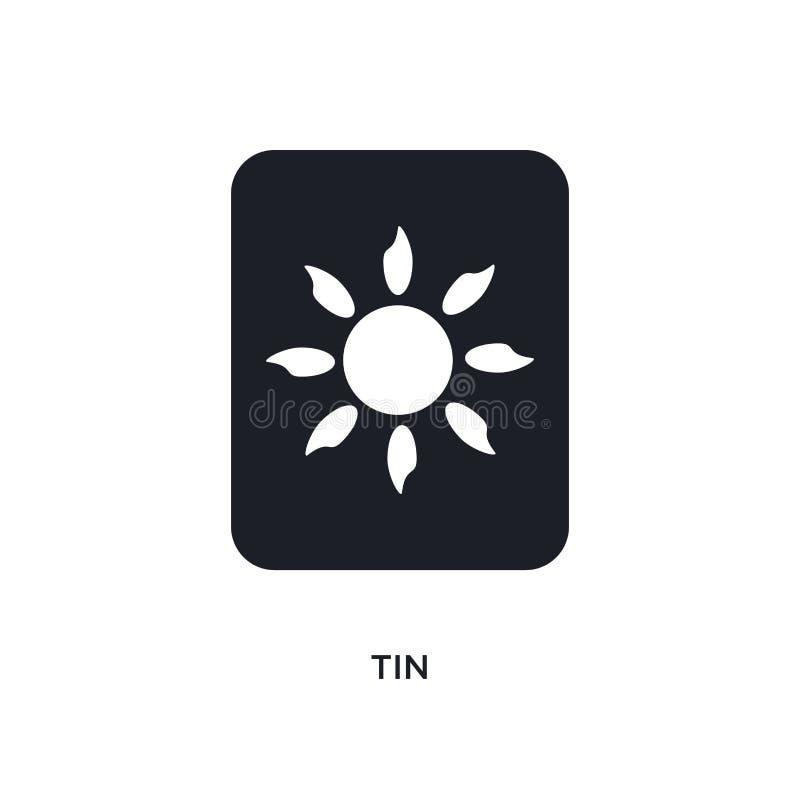 icona isolata latta illustrazione semplice dell'elemento dalle icone di concetto dello zodiaco progettazione editabile di simbolo royalty illustrazione gratis