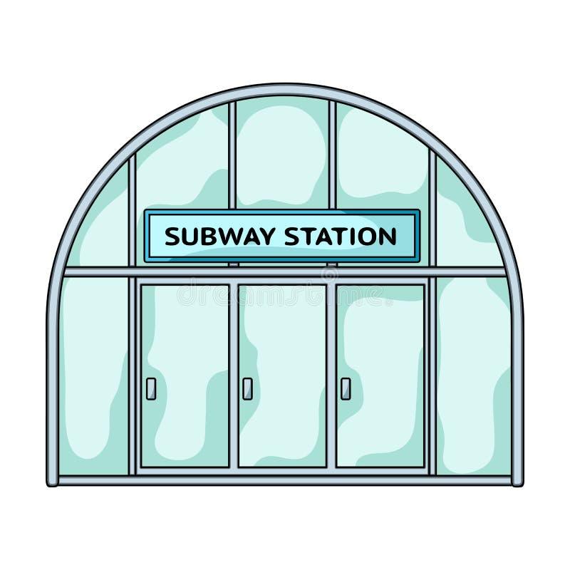 Icona metropolitana e singola nello stile del fumetto Web metropolitano dell'illustrazione delle azione di simbolo di vettore royalty illustrazione gratis