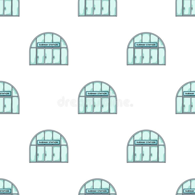 Icona metropolitana e singola nello stile del fumetto Web metropolitano dell'illustrazione delle azione di simbolo di vettore illustrazione di stock