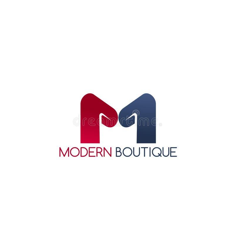 Icona moderna di vettore del boutique royalty illustrazione gratis