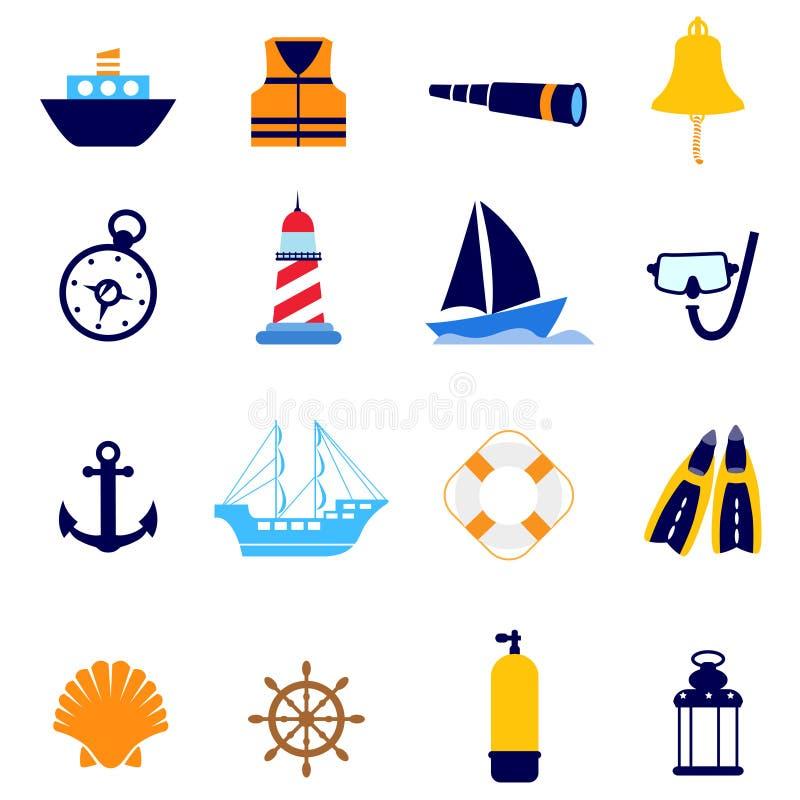 Icona nautica royalty illustrazione gratis