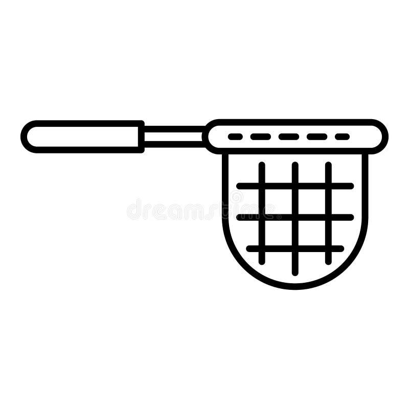 Icona netta dello stagno pulito, stile del profilo illustrazione di stock