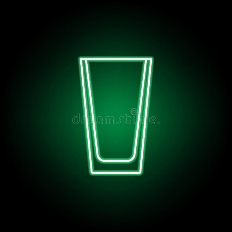 Icona pi? fresca e di vetro Pu? essere usato per il web, il logo, il app mobile, UI, UX illustrazione di stock