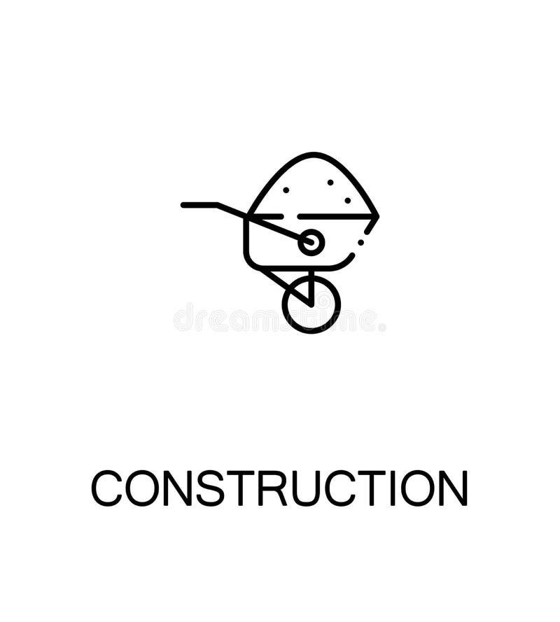 Icona piana della costruzione royalty illustrazione gratis