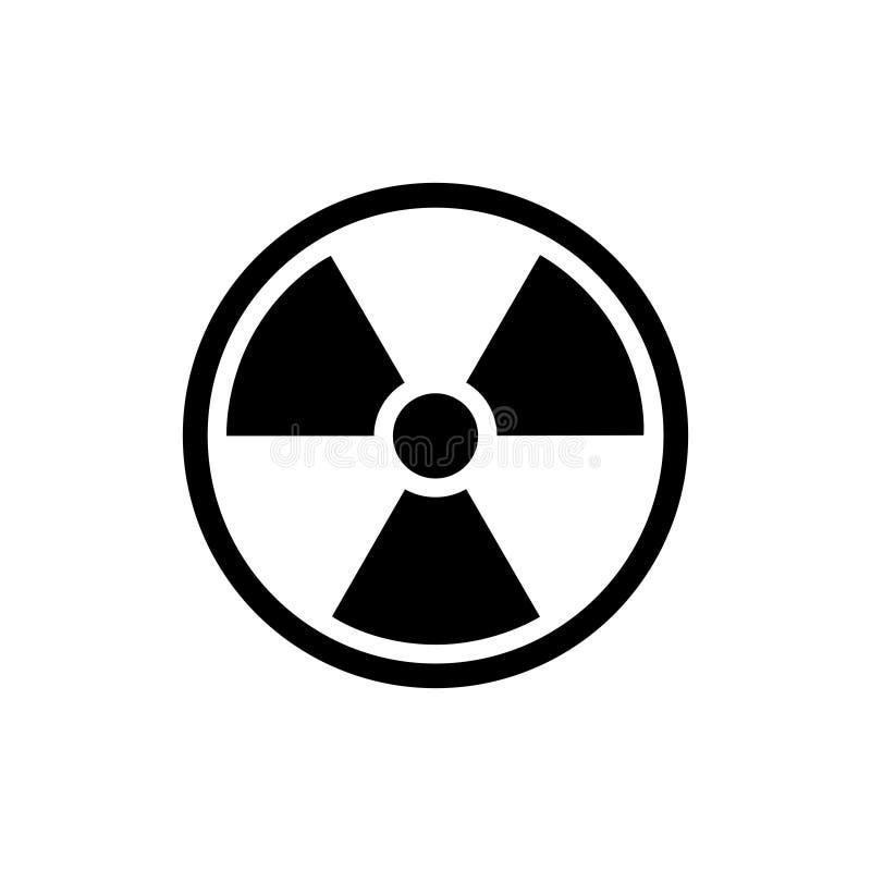 Icona radioattiva isolata - png royalty illustrazione gratis