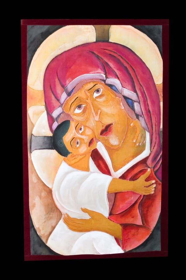 Icona religiosa antica immagine stock libera da diritti