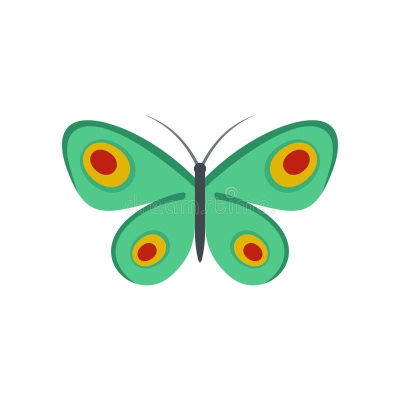 Icona sconosciuta della farfalla, stile piano royalty illustrazione gratis