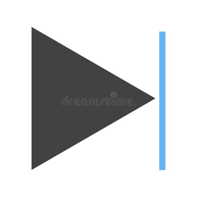 Icona seguente della pista royalty illustrazione gratis